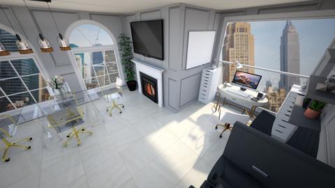 arh studio rend 6 - Modern - Office  - by Ana Malajmare