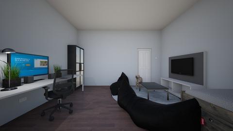 my dream gaming room - Rustic - Bedroom  - by school account