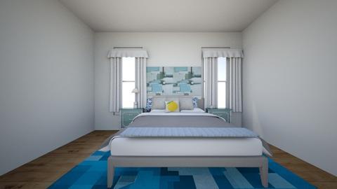 Gavins Beach Room - Bedroom  - by GPMDesigns