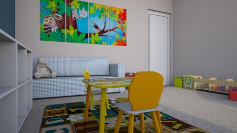 playroom - Modern - Kids room  - by RebeccaODonnell