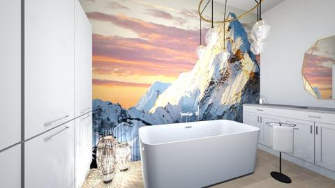 MountainView Bathroom - Bathroom  - by ItsKalaniOfficial