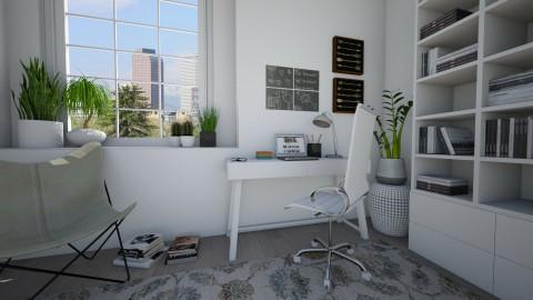 Study corner - Office  - by Tuija