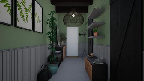 Welcoming Hallway - by Noa Jones
