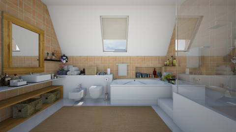 Ready for a bath - Modern - Bathroom  - by Joao M Palla