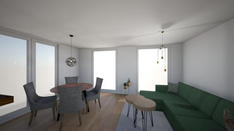 Omega 1b light - Living room  - by Roosstyler