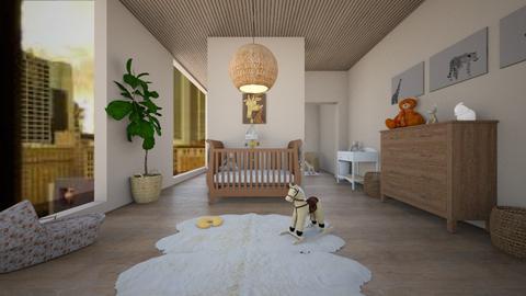 Surprise Baby Nursery  - Kids room  - by NykhalahM