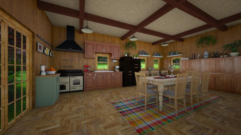 Country Kitchen - Kitchen - by VeroDale