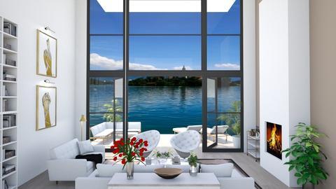 High View - Living room - by han_x