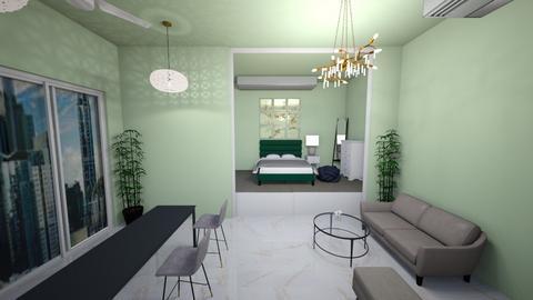 green tea pt2 - Modern - Living room  - by alexa0921