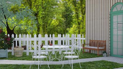 Small Patio Living - Garden  - by matildabeast