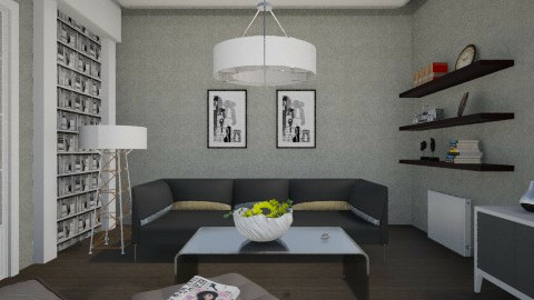 GW - Minimal - Living room  - by milyca8