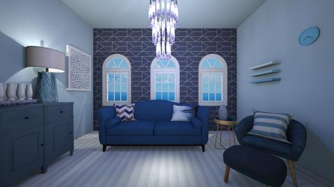 blue room  - Living room  - by vlj51D4C