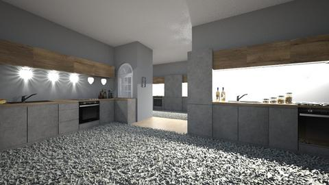 fifty shades of grey - Kitchen  - by 7087755443