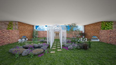 Secret Garage Garden - Garden - by mydreamjob25
