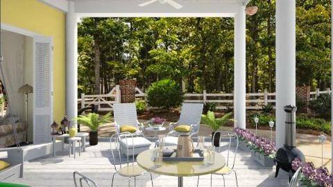Sweet Tea - Garden  - by Kim Bowling