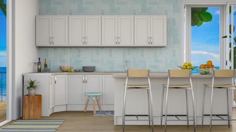 Beach House 6 - Modern - Kitchen  - by millerfam