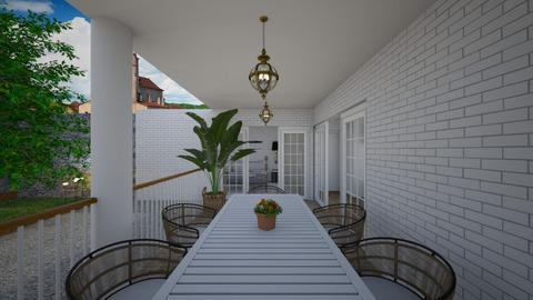 Terrace  - Garden  - by lovasemoke