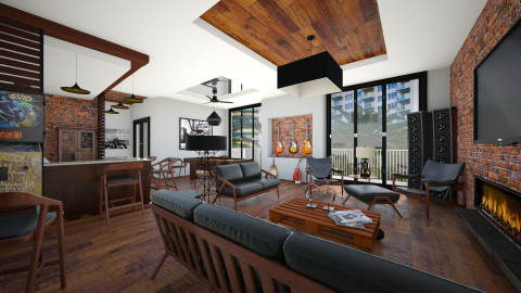 Bachelor Pad - Masculine - by Lackew