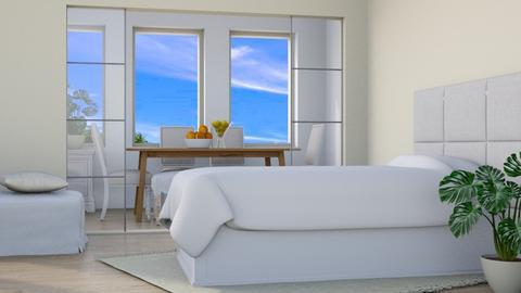 Beachy Flat - Modern - Bedroom  - by millerfam