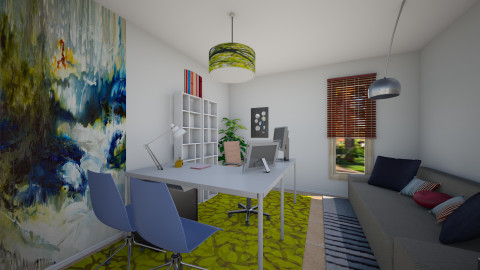Florida Office - Modern - Office  - by clauegarza