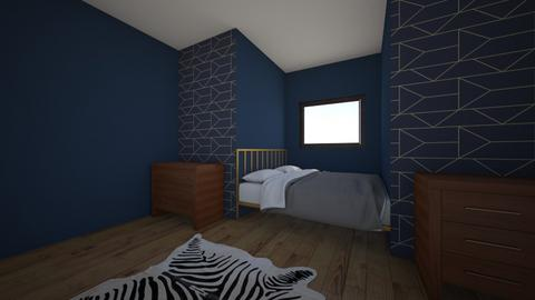 Bed Nook - Modern - Bedroom - by ClaireCora