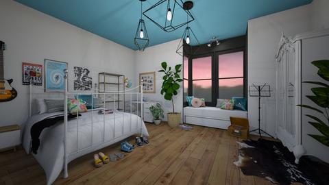 teen room - Bedroom - by blackdaisies