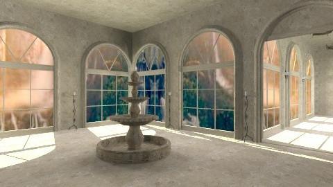 Rivendale Palace - Vintage - Garden  - by HGranger2