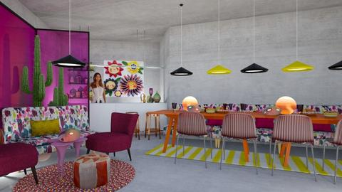 Berry corner - Dining room - by chania