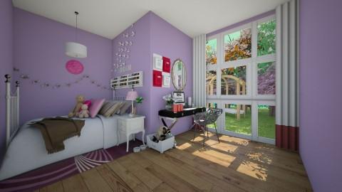 Tumblr Teen Bedroom 13TH - Classic - Bedroom  - by kbosse