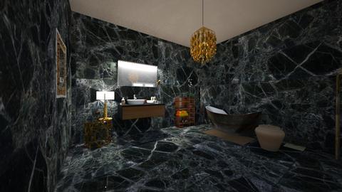 Eclectic bath - Eclectic - Bathroom - by Infinityella6