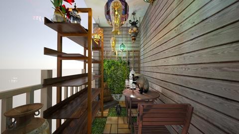 Patio Idea 1 - Garden - by Amberizzle