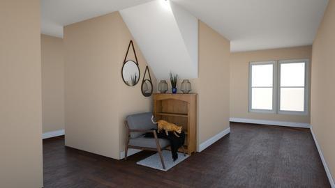 Reading Nook - Masculine - Living room  - by janAllan
