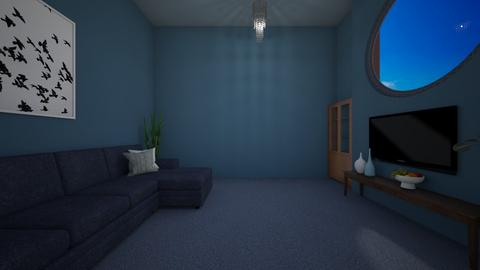 Minimalistic - Minimal - Living room  - by PAPIdesigns