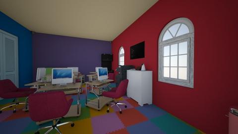 Tata Ruang Kantor - Modern - by Aqueena