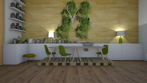 simple st patricks - Modern - Dining room  - by matildabeast