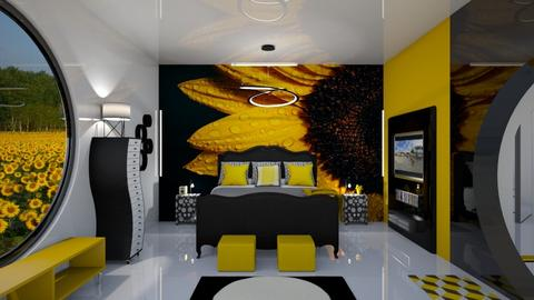 Sunflower RS - Eclectic - Bedroom  - by Amyz625