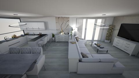 bright kitchen 2e - Modern - Kitchen - by kantorjanos