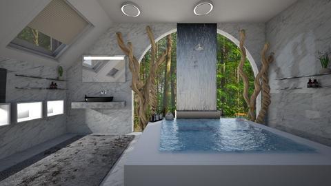 Bird Bath Bathroom - Bathroom - by PenAndPaper