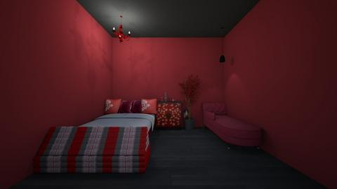 momos room - Bedroom  - by crying_room