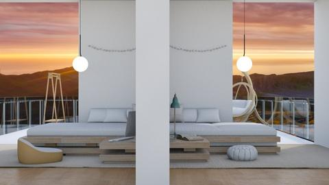 Balcony - Minimal - Bedroom  - by Twicespecial523