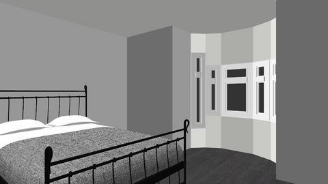 dream bed room not done - Vintage - Bedroom  - by mushroom123456789