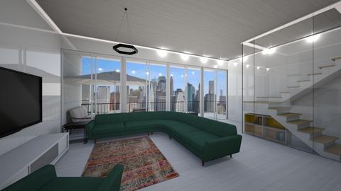 360 Furman St Apt 1216 - Living room  - by sfurkan