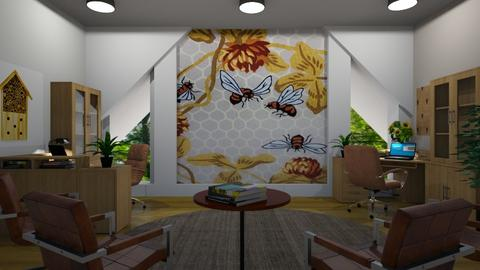 beehouse inspired office - by ilcsi1860
