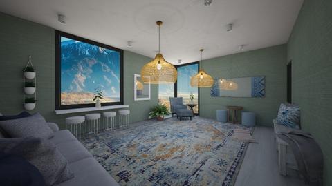Bar room - Living room  - by Noca