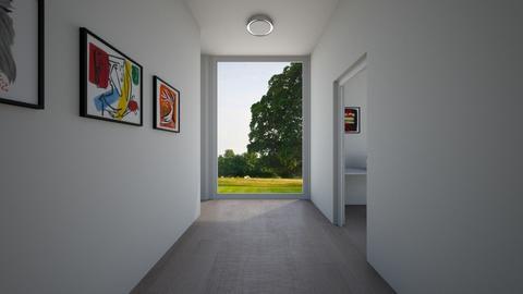 Corridor - by emilka4567890