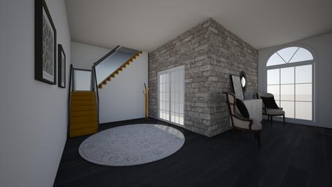 hallway - Modern - by kaleighsksk