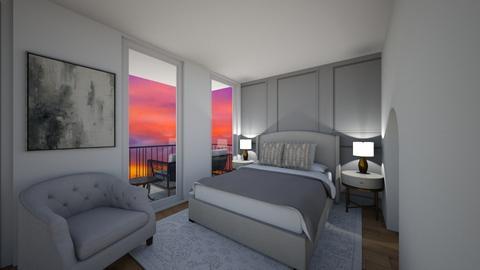 sunset apartment - Modern - Living room  - by jessmayyy
