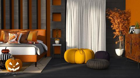 autumn bedroom - Modern - Bedroom  - by RimaNina