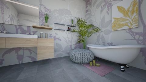 lavender washroom - by Adrianna 808