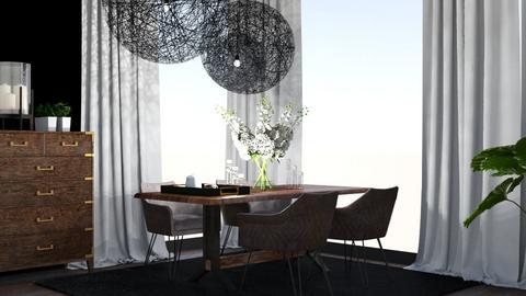 dining room - by Emilka Lipnicka